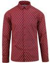 madcap england arkade floral penny collar shirt