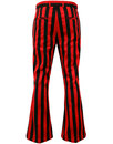 Inferno MADCAP ENGLAND Retro Tailored Bellbottoms