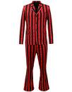 madcap england inferno retro 60s mod stripe suit