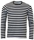 MADCAP ENGLAND RETRO MOD BRIAN JONES STRIPED TEE