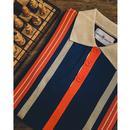 Farlowe MADCAP ENGLAND Mod Stripe Knit Polo Top