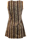 Lazy Daisy 70s Stripes MADCAP ENGLAND Retro Dress