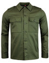 Vintage Lennon MADCAP ENGLAND Mod Military Jacket
