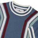 Modernista MADCAP ENGLAND Waffle Stripe T-shirt OB