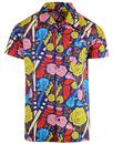 madcap england bluebeat retro music hawaiian shirt