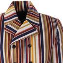 Rare Breed Stripe MADCAP ENGLAND Cord D/B Blazer