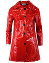 Jackie MADCAP Made in England Retro 60s Raincoat R