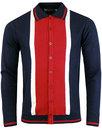 Marriott Suede MADCAP ENGLAND Mod Polo Cardigan NR