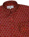 Saffron MADCAP ENGLAND Retro Floral Hexagon Shirt