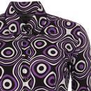 Cosmic MADCAP ENGLAND Womens Mod Op Art Shirt (RL)