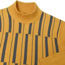 Symphony MADCAP ENGLAND Striped Turtle Neck Jumper