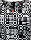 Lazy Daisy Op Art MADCAP ENGLAND Retro Mod Dress