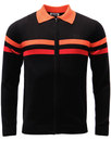 madcap england mavers 70s mod knit track top black