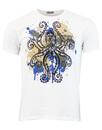 madcap octopus print white mod