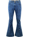 madcap england 70s paisley denim bellbottom flares