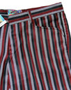 Meadon MADCAP ENGLAND Mod Boating Stripe Trousers
