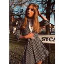 Bijoux MADCAP ENGLAND Mod Geo Pleated Tennis Skirt
