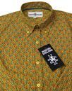 Saffron MADCAP ENGLAND 60s Floral Hexagon Shirt T