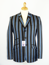MADCAP ENGLAND BOATING BLAZER RETRO MOD JACKET 60s
