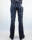 Backbeat Blues MADCAP ENGLAND Mod Bootcut Trousers
