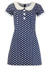 Dollierocker Polka Dot MADCAP ENGLAND Mod Dress NW