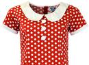 Dollierocker Polka Dot MADCAP ENGLAND Mod Dress RW