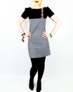 Lucy in the Sky MADCAP ENGLAND Mod Gingham Dress B