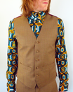 Tailored by Madcap England Mod Dogtooth Waistcoat