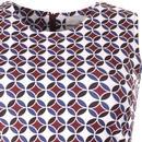 Suki MADCAP ENGLAND 60s Circle Op Art Mod Dress