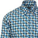 Trip Geo Chevron MADCAP ENGLAND Retro Mod Shirt