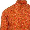 Surbahar MADCAP ENGLAND Gold Paisley Kaftan Shirt