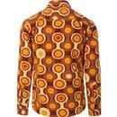 Trip Psych-Out Circle MADCAP ENGLAND Mod Shirt B/M