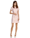 MARMALADE Mod Vintage 60s Fitted Dress in Pink