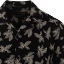 Carlisle MERC Retro Palm Leaf Resort Collar Shirt