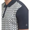 Jaram MERC Retro 60's Geometric Square Polo Shirt