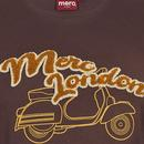 Larrsen MERC Mod Varsity Logo Scooter Tee (Brown)