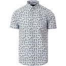 Shelley MERC 60s Mod SS Optic Polka Dot Shirt (SB)