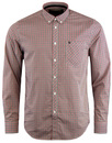 Syndale MERC Mod 60s Gingham Check Shirt