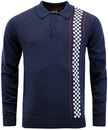 merc-tathwell-retro-ska-mod-checkerboard-polo-navy