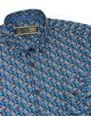 Thorne MERC Mod Botanical Print Button Down Shirt