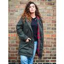 Tobella MERC Women's Mod 60s Fishtail Parka Coat