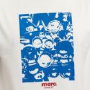 Westbury MERC Retro Mod Scooter Print T-Shirt OW