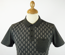 Banion MERC Retro Mod Paisley Pocket Polo Shirt