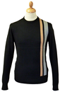 Robert MERC Retro 60s Racing Stripe Mod Jumper B