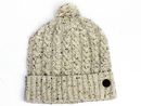 Rothstein MERC Retro 70s Cable Knit Bobble Hat C