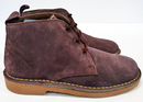 'X-Section' - Womens Retro Mod Suede Desert Boots