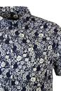 NATIVE YOUTH Retro Mod Floral Short Sleeve Shirt
