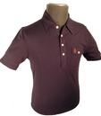 ORIGINAL PENGUIN JACK POLO SHIRT RETRO MOD INDIE