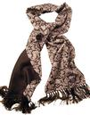 TOOTAL SCARF - Sixties Retro Floral Paisley (B)