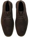 Double Dekker - Mens Mod Suede Desert Boots BROWN